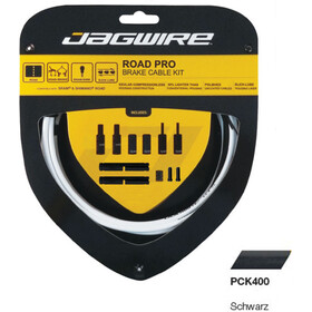 Jagwire Road Pro Brake Cable Kit, black